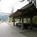 Photos: 白山比咩神社(白山市)北参道・手水舎・鳥居