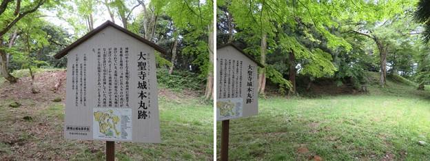 大聖寺城(石川県加賀市)本丸