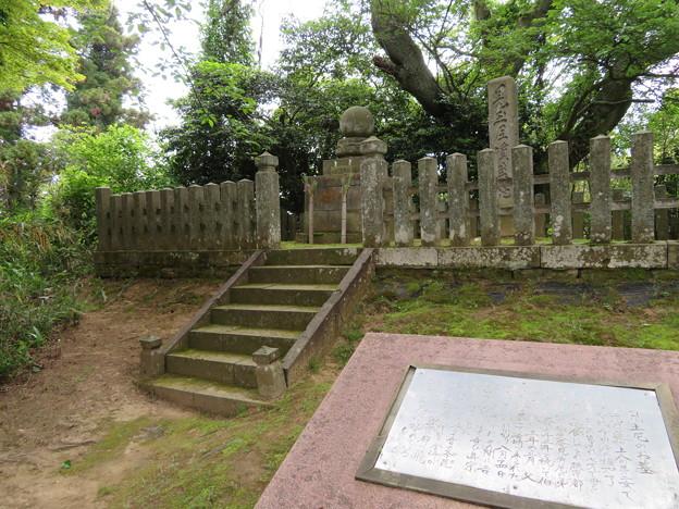 吉崎御坊跡(福井県あわら市)児玉尼墓