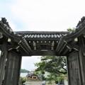 本願寺吉崎別院 念力門(西本願寺旧北総門。福井県あわら市)
