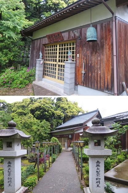 高岳寺(坂井市)不動堂