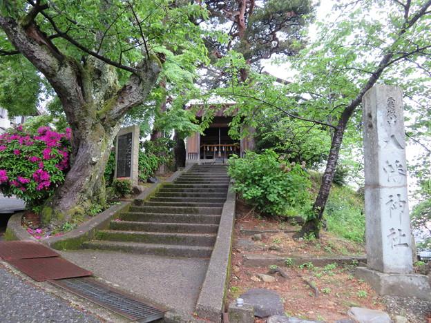 丸岡城(福井県坂井市)霞城山八幡神社