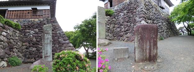 Photos: 丸岡城(福井県坂井市)一筆啓上碑