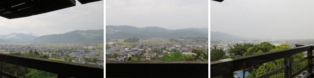 丸岡城天守(福井県坂井市)北東・東・南東