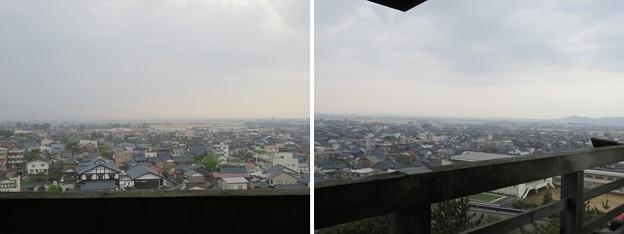 丸岡城天守(福井県坂井市)西・西北