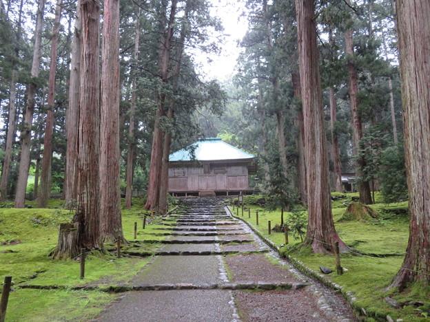 平泉寺白山社舊址(勝山市)拝殿