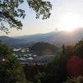 Photos: 戌山城南郭より(大野市)大野城