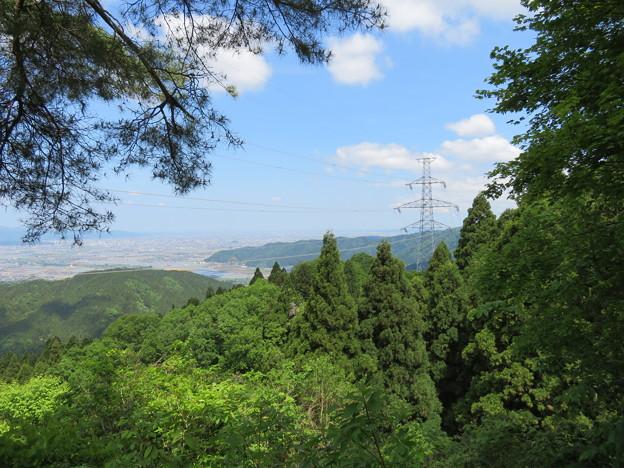 一乗谷城(福井市)宿直跡より