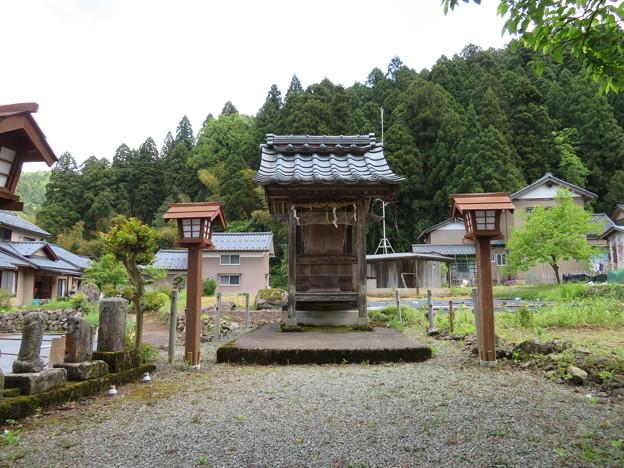 明智光秀屋敷跡・細川ガラシャ生誕地/明智神社(福井市)