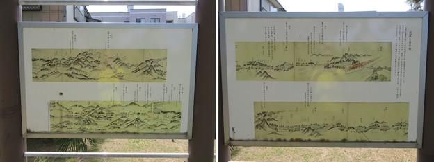 芭蕉宿泊地洞哉宅跡(福井市営 左内公園)