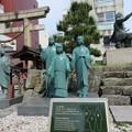 Photos: 北ノ庄城跡/柴田神社(福井市)三姉妹像