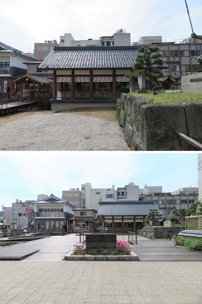 北ノ庄城跡/柴田神社(福井市)拝殿・柴田公園