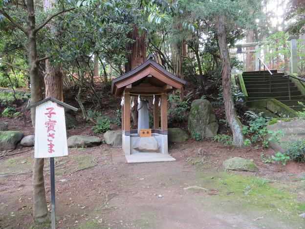 劔神社(越前町)子寶さま