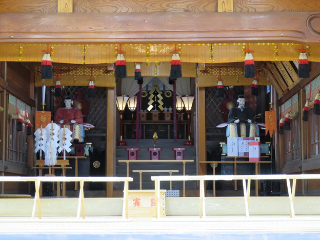 劔神社(越前町)拝殿