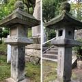 Photos: 武田耕雲斎等墓(敦賀市)慶應四年石灯籠