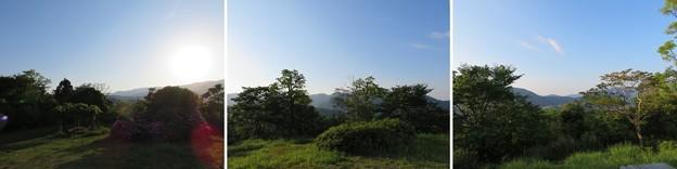 天筒山城(敦賀市)見張台跡より