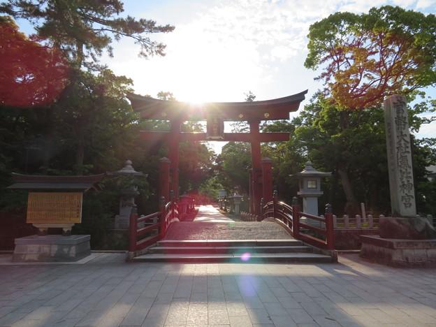 氣比神宮(敦賀市)気比の大鳥居