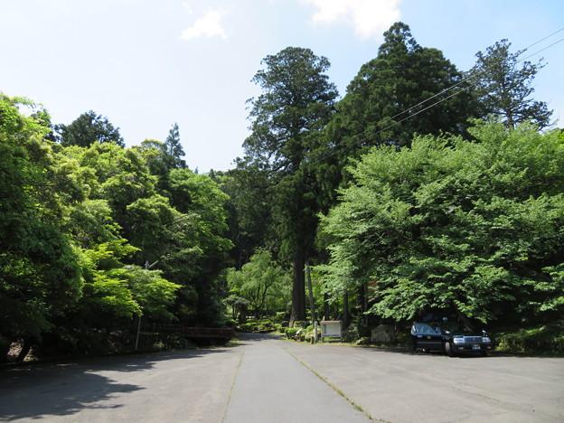 明通寺(福井県小浜市)駐車場?