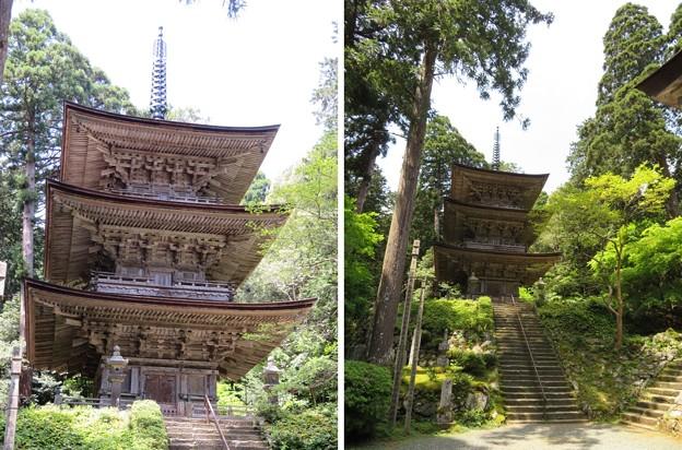 明通寺(福井県小浜市)三重塔