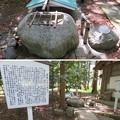 若狭姫神社(若狭彦神社下社。小浜市遠敷)霊水 桂の井