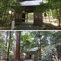 Photos: 若狭彦神社(上社。小浜市竜前)楼門(随身門)