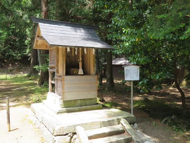若狭彦神社(上社。小浜市竜前)若宮