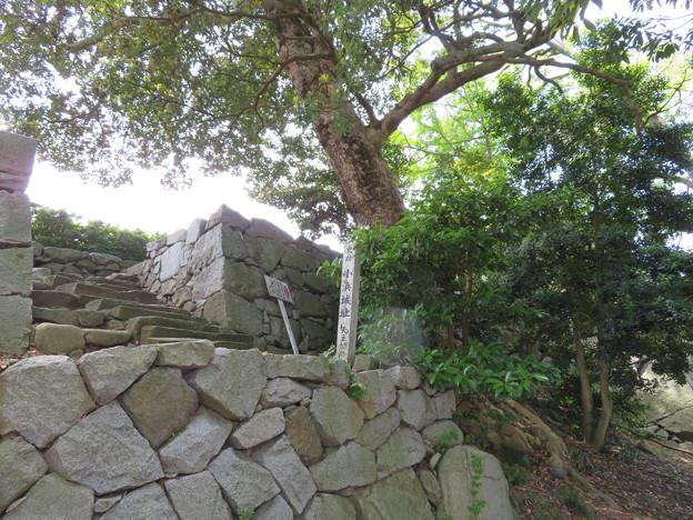 小浜城本丸/小浜神社(福井県小浜市城内)天守
