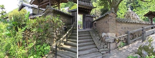 佛國寺(小浜市)築地塀