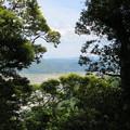 愛宕神社/後瀬山城(小浜市)本郭より