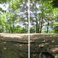 黒井城(兵庫県丹波市)太鼓の段