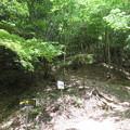Photos: 黒井城(兵庫県丹波市)石踏の段