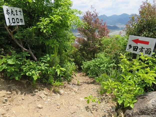 黒井城(兵庫県丹波市)