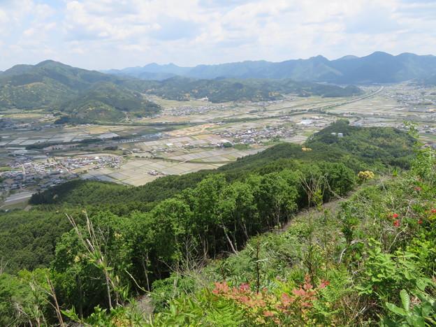 黒井城(兵庫県丹波市)左先、龍ヶ鼻砦