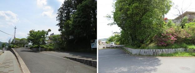 園部城(園部陣屋。京都府南丹市)士屋敷跡・内堀跡