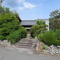 Photos: 亀山城 移築門/文覚寺(亀岡市)