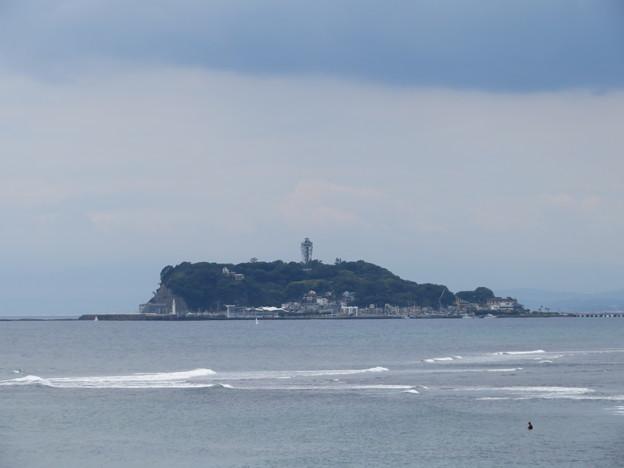 稲村ヶ崎(鎌倉市)より江の島
