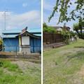 Photos: 梶原一族郎党(七士)墓・一宮館跡(寒川町)