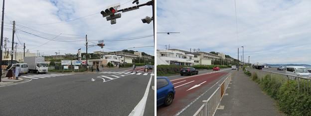 Photos: 国道134号線 行合橋交差点(神奈川県鎌倉市七里ガ浜)