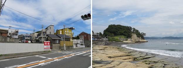 Photos: 国道134号線(鎌倉市稲村ガ崎)