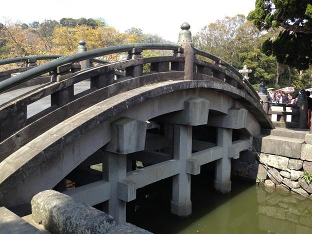 13.03.28.鶴岡八幡宮(鎌倉市)太鼓橋