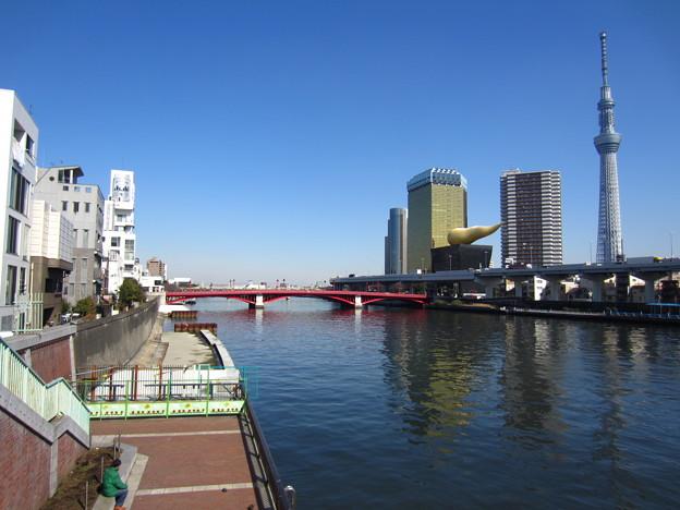 Photos: 12.02.21.浅草の空(東京都)隅田川