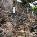 品川神社(品川区北品川)富士塚