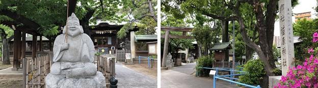 荏原神社(品川区北品川)