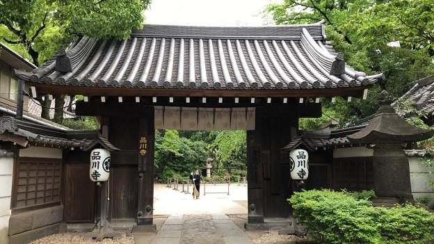 品川寺(南品川)山門