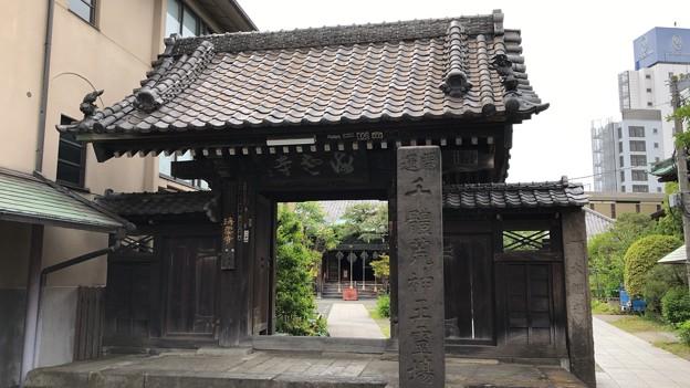 海雲寺(南品川)山門