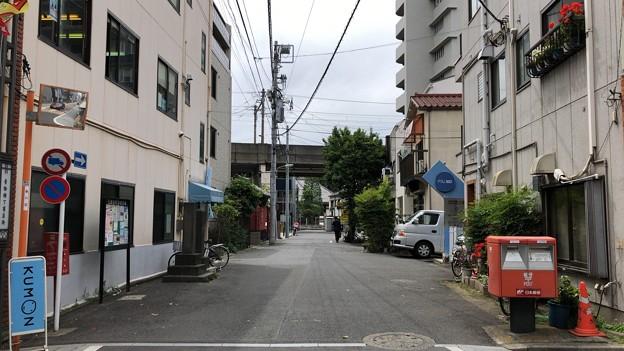 旧東海道 海晏寺表門跡(南品川)旧参道