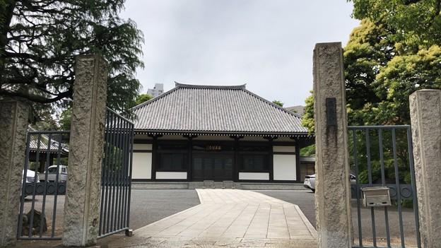 海晏寺本堂(南品川)