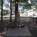 法明寺飛地境内(豊島区雑司ヶ谷)鬼子母神像