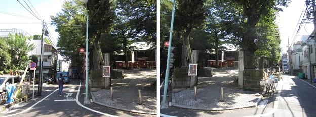 鬼子母神西参道(豊島区雑司ヶ谷)