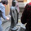 """Photos: 高岩寺(とげぬき地蔵)石造聖観音像""""洗い観音"""""""